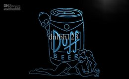 Wholesale Duff Beer Neon - LE139-TM Duff Simpsons Beer Bar Display Neon Light Sign. Advertising. led panel