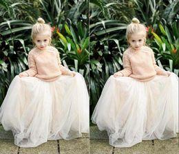 Wholesale Cheap Baby Easter Dresses - 2016 Lovely Baby Girls Tulle Skirts White Princess Tutu Ball Gown Flower Girl Party Dresses For Skirt Wedding Cheap Children's Long Skirts