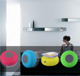 Canada Haut-parleur de douche portable sans fil Bluetooth coloré coloré pour iphone 8 7 6 5 samsung HTC MP3 MP4 Offre