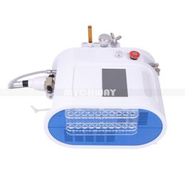Wholesale Micro Peeling Machine - Hydro Dermabrasion Microdermabrasion Peeling Facial Cleaning Beauty Machine For Acne Wrinkle Remover Micro Current Face Lifting Treatment