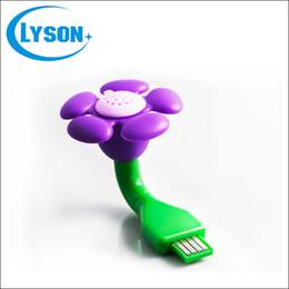 Wholesale Little Plastic Flower - Wholesale Cheap Portable Mini Plastic Flower Office Desk USB Diffuser Vehicle-mounted Essential Oil Little USB Diffuser