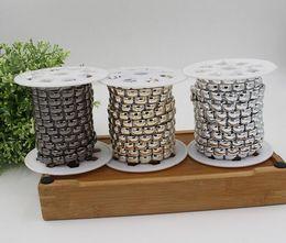 20yard rectangle perles UV plaqué garniture de chaîne pour la couture sac apperal chaussures cap collier décoration ? partir de fabricateur
