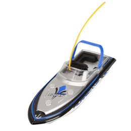 Wholesale Toy Boat Wholesale - Wholesale- HIINST Best seller drop ship funny Blue Radio RC Remote Control Super Mini Speed Boat Dual Motor Toy june19 p30 Ag14 Gift