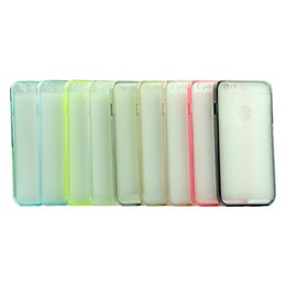 Wholesale Look Fit - Transparent good-looking Direct touch screen usage PET protective film Sports TPU cell phone case for iphone 6plus 6s plus