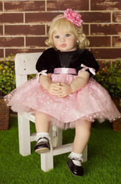 "Wholesale Toy Princess China - 22"" Adora Baby Born Doll High Grade Soft Vinyl Princess Girl Doll Toy Gift Reborn Baby Dolls"