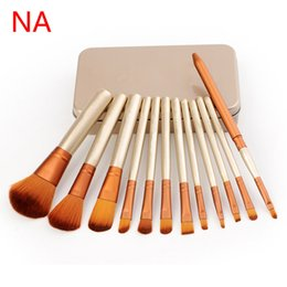 Wholesale Appliance Tools - Make up Cosmetic Brushes Set Powder Foundation Eyeshadow Lip Brush Tool N3 Make Up Tools Brushes Toiletry Beauty Appliances Free DHL