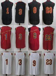 Wholesale Brand Army - Cheap Wholesale 2017-18 Free Shipping New Season Brand #23 LeBron James 9 Dwyane Wade 1 Derrick Rose 3 Isaiah Thomas Stitched Limited Jersey