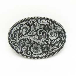 Wholesale Belt Buckle Rings For Women - 2016 DISOM New belt buckle flower belt buckles American fashion men and women belt buckle zinc alloy rings suit for 4cm width belt