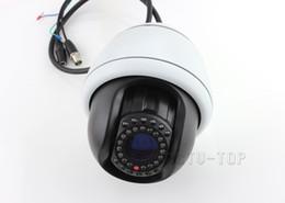 Wholesale Effio Ptz - 1 3'' SONY Effio-E Indoor Outdoor 10 X Zoom PTZ Camera Vandal-Proof Mini High Speed PTZ Dome Security Camera