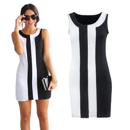 Wholesale Sexy Office Wear Womens - Summer Split Joint Sleeveless Round Neck Mini- Sexy Maxi Dress Office Vintage Green Designs Winter 2016 Womens Clothes Dresses S - 5XL