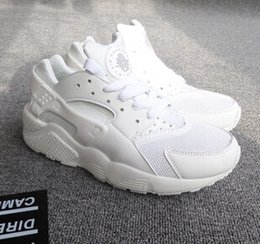 Wholesale Closed Wedge Shoes - 2016 womes fashion sneaker wedges laser equipment unisex running shoe women tennis shoe air huarach walkin Sneakers Chaussure Femme Huraches