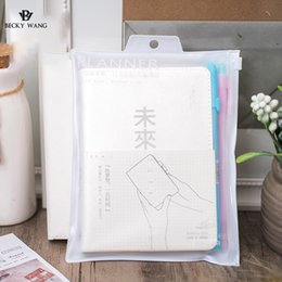 Wholesale Japanese Notebook Wholesale - Wholesale- 2017 Japanese Light Amount Hand Account Library Series Mu Color A6 Time Hand Account Notepad Student Stationery Notebook
