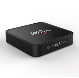 Wholesale Internet Tv Google - Amlogic S905X MXQ PLUS M8S PRO Android TV Box With LED Display Android 6.0 1GB 8GB Google Play 17.3 Fully Loaded Internet