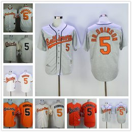 636134a05cd ... Brooks Robinson Jersey MLB Vintage Cool base 1970 Cooperstown Baseball  Baltimore Orioles Retro Jerseys ...