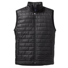 Wholesale puffer jacket men - Pata quilted vest men sleeveless puffer jacket ultra light bodywarmer herren weste chaleco hombre gilet homme outerwear