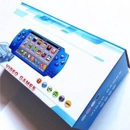Wholesale Mp3 Mp4 Game - 8GB 4.3 inch Portable Handheld Video Game Player PMP Camera MP3 MP4 player 5000 games Gifts