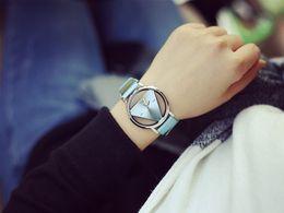 Wholesale Vintage Retro Watch Women - 2016 Women Dress Hollow Watches Vintage Leather Fashion Quartz Retro Antique Wristwatches Female Clock Montre Femme Reloj Mujer