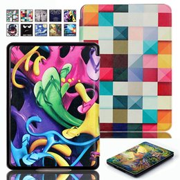 "Wholesale Ebook Amazon - Accessory Ultra Slim Painting Folio Leather Case Cover Skin For Amazon Kindle 2016 8th Gen SY69JL 6"" Reader Ebook"