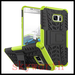 Wholesale Note Rugged - For iphone X 8 Samsung Galaxy Note 8 S6 J2 J3 Pro J710 J510 Rugged Stand Rubber Shockproof Hybrid Heavy Duty Case Cover