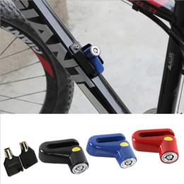 2019 travões de bicicleta de fixação Novo Mini Bloqueio de Freio A Disco de Freio de Bloqueio de Bicicleta de Montanha Fixo Anti Roubo Segurança Segurança Fechaduras de Bicicleta travões de bicicleta de fixação barato
