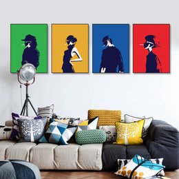 Wholesale Big Beautiful Homes - Fashion Model Figure Canvas Big Art Poster Prints Wall Pictures Modern Nordic Beautiful Girls Room Home Decor Paintings No Frame