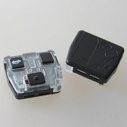 Wholesale Toyota Prado Remote Key - Best 3 buttons remote key shell fob key case for toyota land cruiser prado camry 3 button remote control cover