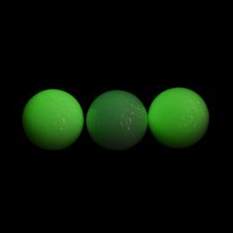 Canada 1 Pcs Vente Chaude Light-up Clignotant Lumière De Nuit Glowing Fluorescence Balles De Golf Golf En Gros Offre