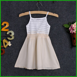 Wholesale Baby White Plaid Dress - hot sale 2016 factory clearance killing price new arrival White Baby Girls Kids Prom Party Wedding Tulle Dress Size 2-7Years Summer dress