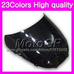 Wholesale Honda Cbr 1995 - 23Colors Windscreen For HONDA CBR250RR 95 96 97 98 99 MC22 CBR 250RR 1995 1996 1997 98 1999 Chrome Black GPear Smoke Windshield