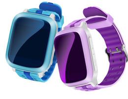 Wholesale Gps Sms Tracker Watch - DS18 Smart phone Watch kids Children baby GPS WiFi Locator Tracker SOS Call SMS Support SIM Card Kids Smartwatch