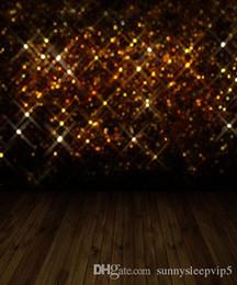 Wholesale Digital Background Floors - Bling Wall Wooden Floor 5x7ft Digital Printing Studio Backdrops Vinyl Photography Lighting Print Cloth Prop Photo Backgrounds