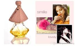 Botella de cristal esencia online-6 ml Color mezclado Coche colgar decoración esencia de vidrio aceite botella de perfume Colgar la cuerda botella vacía