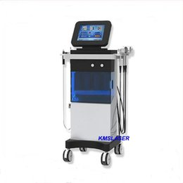 Wholesale Whitening Led - 7 in 1 USA Popular Skin Spa System oxygen water machine SPA16 Hydra facial oxygen spray gun hydro dermabrasion led light therapy machine