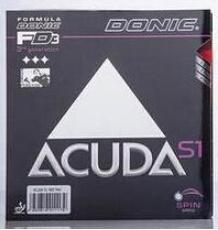 Wholesale Table Cover Rubber - Donic ACUDA S1 ACUDA S1 Turbo table tennis rubber table tennis rackets racquet sport table tennis cover Ping Pong rubber