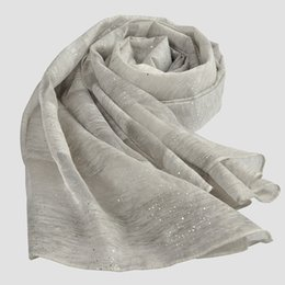Wholesale Cheap Winter Wool Scarves - Cheap Pashmina Scarf Stoles Shawls And Wraps Winter Women's Scarves Cachecol High Quality Wool Silk Chiffon Scarves