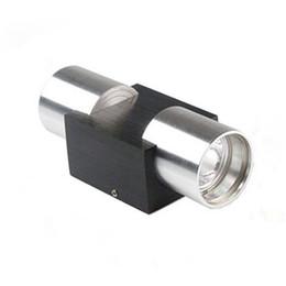 AC85 ~ 265V 4W LED Aplique de pared Lámpara de luz de decoración de accesorios con Dispersión de luz Metal Recta Cuerpo Cuerpo Porche Bulbo Blanco cálido Rojo .. desde fabricantes