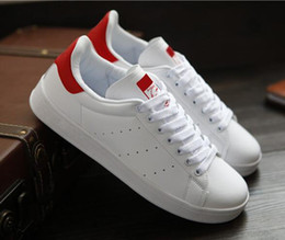 Wholesale Men S Height Increasing Shoes - Lowest price ! 2016 hot stan smith sneakers casual leather men's and women 's sports running jogging shoes men fashion classic flats shoes