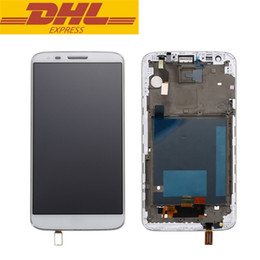 """Wholesale Factory Replacement Parts - For LG Optimus G2 VS980 LCD Display Touch Screen Digitizer Assembly + Frame With """"Verizon"""" Logo Replacement Parts Factory Price"""