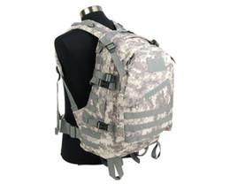 Wholesale Usmc Combat - Military Combat Tactical USMC 3-Day Backpack Molle Camel Pack Assault Backpack Men Outdoor Sports Hunting Shoulder Bag ACU