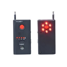 Wholesale Detector Bugs - Hot Sale CC308+ Multi-Detector Full-Range All-Round Detector For Hidden Camera   IP Lens  GMS BUG   RF Signal Detector Finder Free shipping