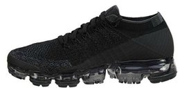 Wholesale Woven Shoes For Men - VaporMaxes 2018 Running Shoes Weaving racer Ourdoor Athletic Sporting Walking Sneakers for Women Men Fashion Casual shoes maxes Size 36-45