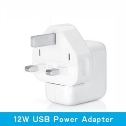 Wholesale Apple 12w Usb Power Adapter - SMAKN® 2.4A Quick Charger 12W USB Power Adapter Travel Charger for iphone 4S 5S 6 Plus Mini iPad Air Samsung Phone and Tablet to the UK