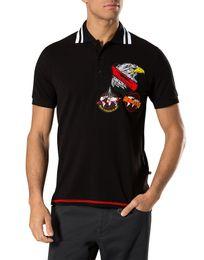 Wholesale Eagle Shirts - New Hot Sale Polo-short Shirt Fit Slim Style tshirt Casual 100% MENS Tee Print Eagle Mens Shirts PP1016