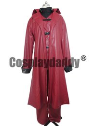 Wholesale Dante Costume - Devil May Cry Dante Cosplay Costume Halloween Outfit