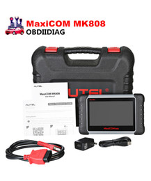 Wholesale porsche servicing - Newest 7 inch Autel MaxiCOM MK808 Automotive Diagnostic Scanner with IMMO EPB SAS BMS TPMS DPF Service Replace of EU908