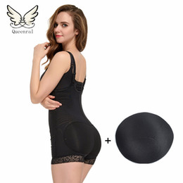 Wholesale Lady Bodysuits Lingerie - Wholesale- bodysuit Women Lingerie hot Shaper Slimming Building Underwear butt lifter Ladies Shapewear Slimming Suits Pants Body Shaping