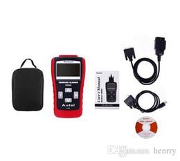 Wholesale Obd Connector Lexus - GS500 OBD2 super code reader Autel MAXSCAN GS 500 OBD 2 New CAN OBD II OBD2 Code Scanner