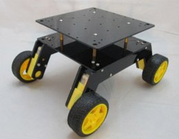 Wholesale Wheeled Robot Platform - Four wheel drive robot car 4WD suspension type intelligent car platform of wheeled off-road performance is strong