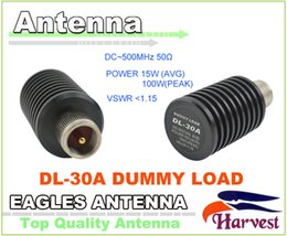 Wholesale Dummy Radio - Wholesale-2016 New PL259-Male Connector Original Harvest Mobile Antenna DL-30A 0-500MHz 15Watt Dummy Load for CB Two-way Radio