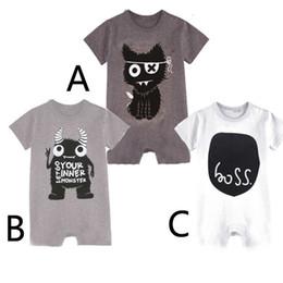 19493981230d34 2018 billige babykleidung Günstige Sleeveless Infant Lovely Zweiteilige  Jungen Kleidung Cute Baby Boy Krabbeln Bewegung Kleidung
